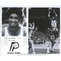 1979 Press Photo Mel Bennett,Indiana Pacers - RRQ20337