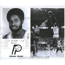 1977 Press Photo Indiana Pacers Player Len Elmore - RRQ20347