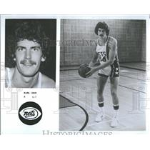 1977 Press Photo New Jersey Nets Player Promo Crow - RRQ20787