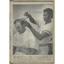 1973 Press Photo Cincinnati Reds Pitcher Pedre Borbon - RRQ21907