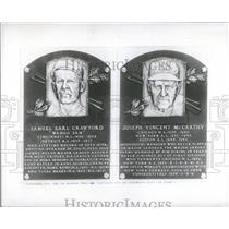 1959 Press Photo Baseball Hall Of Fame Plaques - RRQ23477