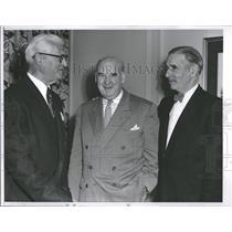 1954 Press Photo Earle Mack Roy Mack Will Harridge - RRQ23869