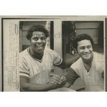 1975 Press Photo Mayberry Solaita Kansas City Royals - RRQ23953