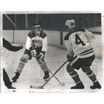 1975 Press Photo Stan Mikita's Hockey School Boys Skill - RRQ24485