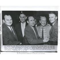 1958 Press Photo Baltimore Orioles GM Paul Richards - RRQ24741