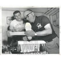 1959 Press Photo Peter Mitchell Football Fenwick - RRQ25805