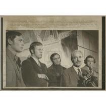 1972 Press Photo Marvin Miller Major League players - RRQ26017