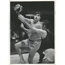 1969 Press Photo Vince Baryla New York Knicks American - RRQ26141