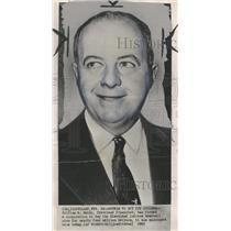 1955 Press Photo Cleveland Daley Cleveland Financier - RRQ26681