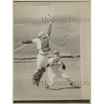1974 Press Photo Pittsburgh Pirates Manny Sanguillen - RRQ28659