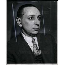 1939 Press Photo John Duvae dodge