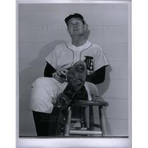 1959 Press Photo Bill Norman American outfielder coach