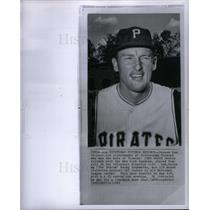 1963 Press Photo Vernon Law Baseball player pitcher