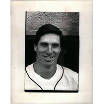 1983 Press Photo Jack Morris baseball pitcher