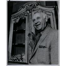 1973 Press Photo Wallace Newton Louis XVI Auction