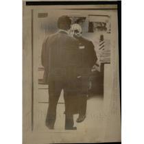 1972 Press Photo Bormann nazi official head pvt secrtry