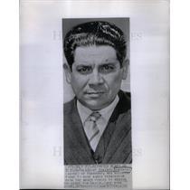 1946 Press Photo President Higinio Morinigo Paraguay