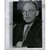 1952 Press Photo LATTIMORE MCCARTHY CHARGES spy