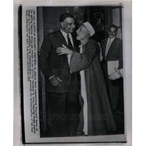 1956 Press Photo president Nasser  Suez Canal Cairo