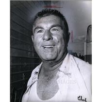 1965 Press Photo Chuck Thompson Sportscaster