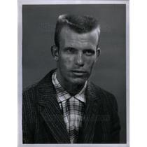 1958 Press Photo Marvin Schultz Baseball Player