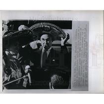 1968 Press Photo George C. Wallace Alabama Gov.
