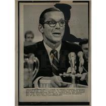 1975 Press Photo Treasury Secretary William Simon