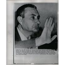 1963 Press Photo Aldo Moro Italian politics