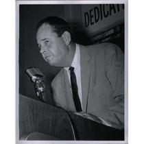 1958 Press Photo Bill Norman Coach Detroit Tigers USA