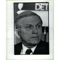 1985 Press Photo Frank Frederick Borman