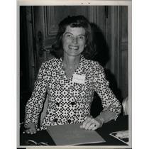 1973 Press Photo Shriver presiden J.F Kennedy's sister