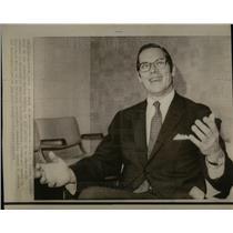 1974 Press Photo Willilam E. Simon Head of Fed.Eng.Off.