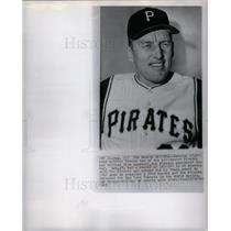 1967 Press Photo Deacon Vernon Law Pittsburgh Pirates
