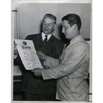 1942 Press Photo Ralph Thomas
