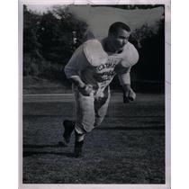 1962 Press Photo Chuck Merdzinski High School Football
