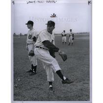 1957 Press Photo Bob Miller
