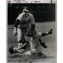 1958 Press Photo Charles Richard Lau Baseball