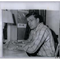 1959 Press Photo Dick Thornton Canadian Football League