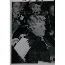 1948 Press Photo Mrs. Russell A. Alger