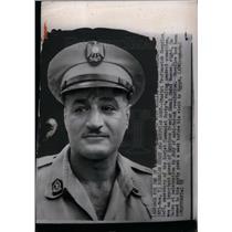 1955 Press Photo Gamal Abdel Nasser Egyptian  Premier