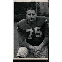 1962 Press Photo John Gordy football player - dfpd29999