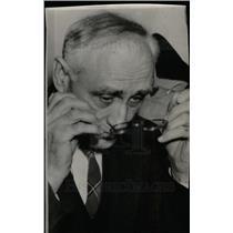 1938 Press Photo Dr. Arthur E. Morgan TVA - dfpd26413