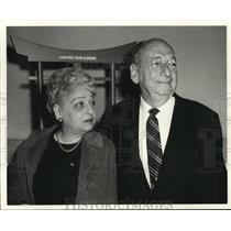 1969 Press Photo Mr. and Mrs. Max Good departing San Francisco for Orient tour
