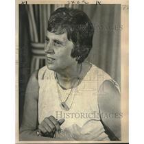 1976 Press Photo Connecticut Governor Ella Grasso, Fairmont Hotel - nob21533