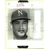 1992 Press Photo Baseball Pitcher Bobby Gravolet of Metro Team - nob23270