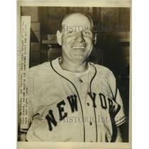 1948 Press Photo Leo Durocher, New York Giants Baseball Manager in Uniform
