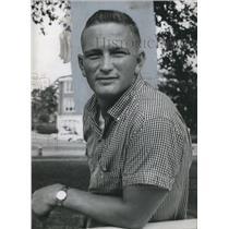 1959 Press Photo Jackie Burkett, Sports - abno00877