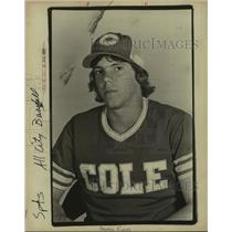 1978 Press Photo Cole High baseball player Darrell Kurek - sas10323
