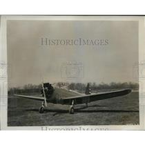 1941 Press Photo The Fairchild XPT-23 training plane delivered at Wright Field