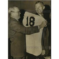 1955 Press Photo New York Giants manager Bill Rigney - sas12961